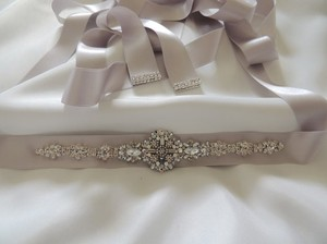 Other Wedding Bridal Art Deco Vintage Inspired Brooch Crystal Belt