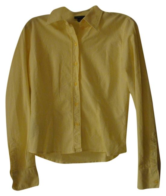 Gant Button Down Shirt Yellow