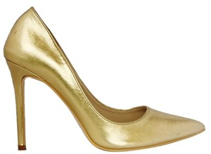 Penny Loves Kenny Pump gold Pumps