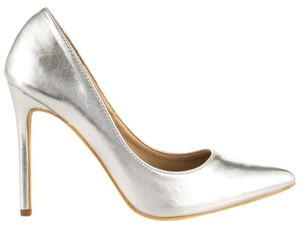 Penny Loves Kenny silver Pumps