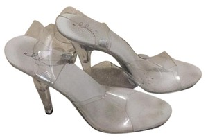 Ellie Shoes Clear Platforms