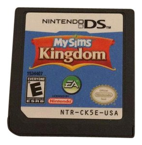 Nintendo DS game. My sims kingdom My sims Kingdom Nintendo DS Game