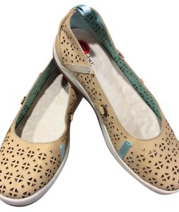 Jambu by Eco Designs Note:straps Removed. Khaki Flats