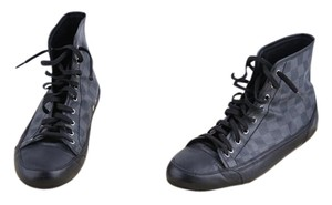 Louis Vuitton Damier High-top Mens Black Athletic