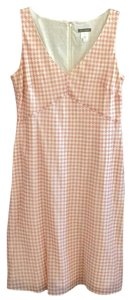 J.Crew short dress Cream, coral on Tradesy