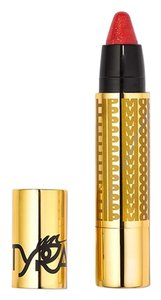 Tyra Lip Model - Lip Color - Hater Blocker - Red with gold glitter