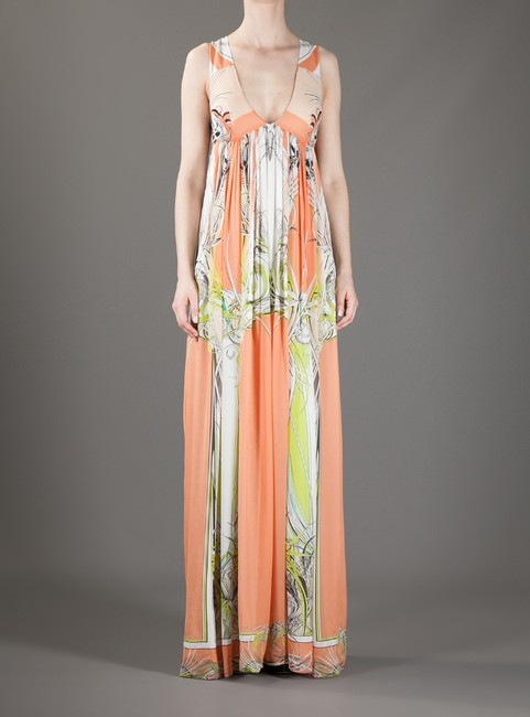 Roberto Cavalli Maxi Gown Sexy Dress Image 1