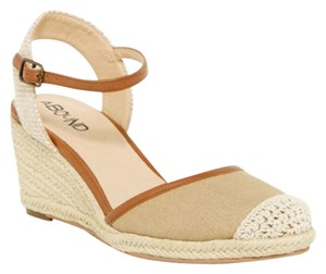 Other Nwt Espadrille Tan Wedges