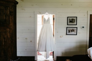 Modern Trousseau Meadow Wedding Dress