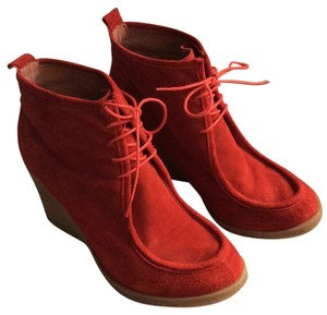 Bata Red Boots