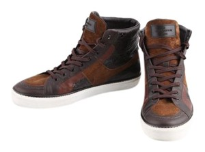 Louis Vuitton Suede/leather Mens Brown Athletic