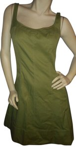Talbots short dress green Sturdy Cotton Fit & Fare on Tradesy