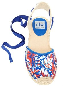 Dolce Vita Nwt Espadrille Red, White and Blue Sandals