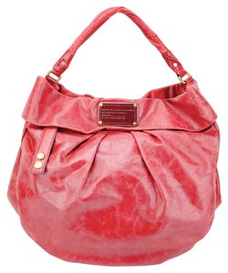 Marc by Marc Jacobs Distressed Leather Riz Hillier Hobo Bag