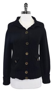Burberry Black Knitted Cardigan