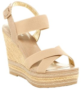Charles by Charles David Nwt Espadrille Bone Wedges