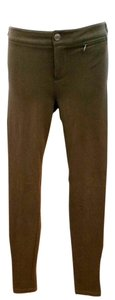 Vince Stretchy Skinny Skinny Pants DARK BROWN