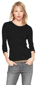 Gap Crewneck Super Soft T Shirt Black