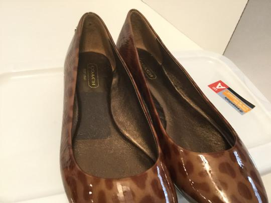 Coach Jaguar Design Make an offer NEW Multi color patent leather padded insoles Flats