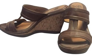 Eürosoft by Söfft Brown Wedges
