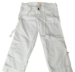 Abercrombie & Fitch Capris White