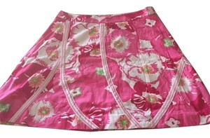 Lilly Pulitzer Lily Skirt Bright Colors - Pink