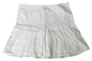 Abercrombie & Fitch Mini Skirt White