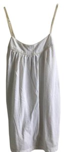 American Eagle Outfitters Adjustable Strap Basic Top White