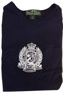 Ralph Lauren T Shirt navy and white