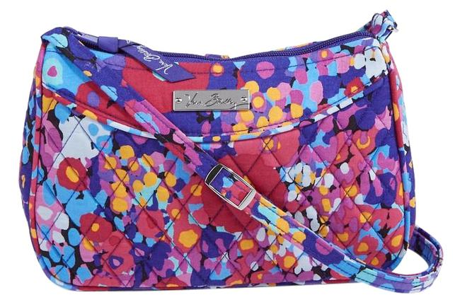 Vera Bradley Impressionsta Quilted Fabric Cross Body Bag Vera Bradley Impressionsta Quilted Fabric Cross Body Bag Image 1