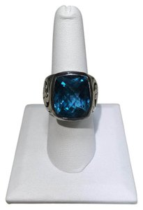 Lois Hill Lois Hill Sterling Silver and Blue Topaz Ring