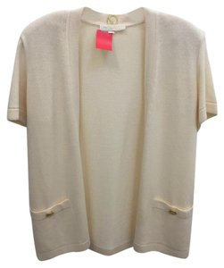 St. John Short-sleeve Cardigan