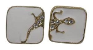Lizard Square Fashion Studs w Free Shipping