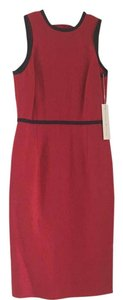 Worth short dress Candy Apple (Red) Linen Petite on Tradesy