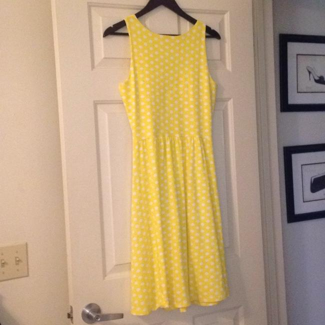 Hanna Andersson short dress Yellow Polka Dot Keyhole Slipover on Tradesy Image 10