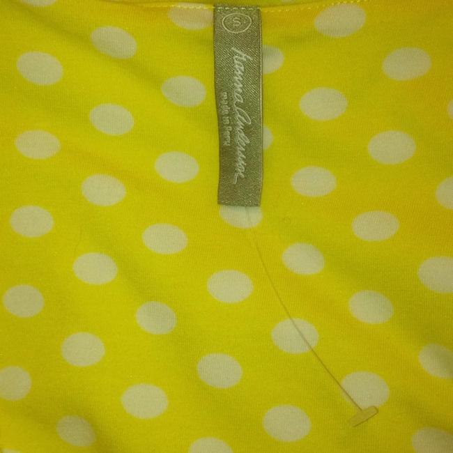 Hanna Andersson short dress Yellow Polka Dot Keyhole Slipover on Tradesy Image 3