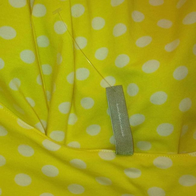 Hanna Andersson short dress Yellow Polka Dot Keyhole Slipover on Tradesy Image 4