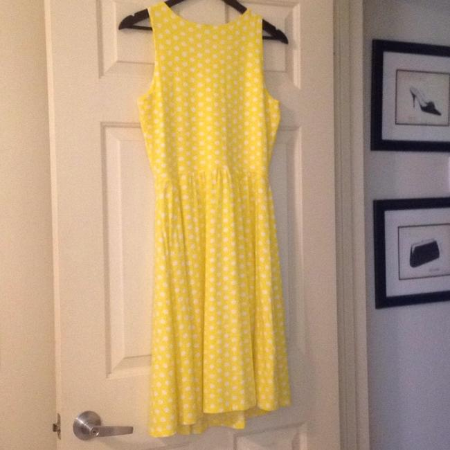 Hanna Andersson short dress Yellow Polka Dot Keyhole Slipover on Tradesy Image 6