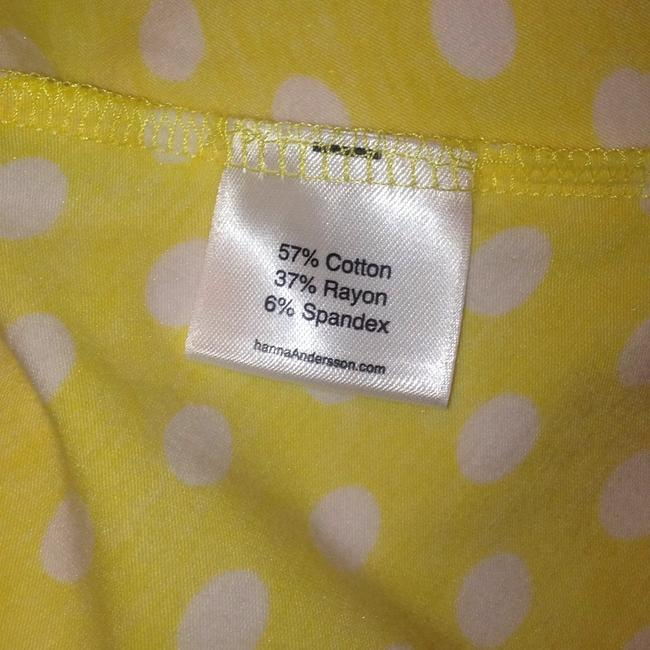 Hanna Andersson short dress Yellow Polka Dot Keyhole Slipover on Tradesy Image 7