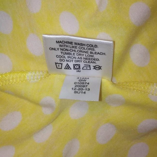 Hanna Andersson short dress Yellow Polka Dot Keyhole Slipover on Tradesy Image 8