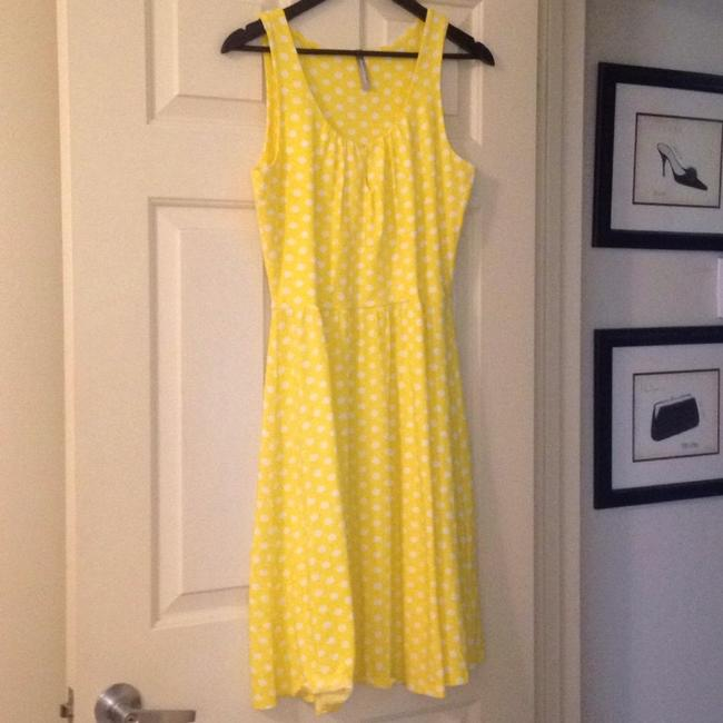 Hanna Andersson short dress Yellow Polka Dot Keyhole Slipover on Tradesy Image 9