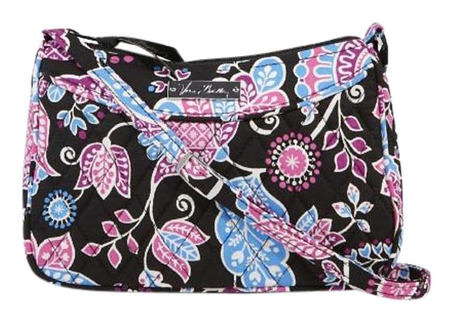 Vera Bradley Floral Quilted Fabric Cross Body Bag Vera Bradley Floral Quilted Fabric Cross Body Bag Image 1