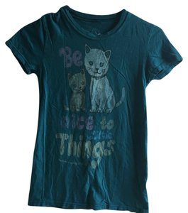 Heritage 1981 Human Society Cats Pets T Shirt Green