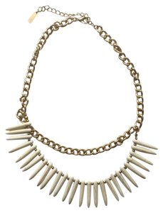 BaubleBar Bauble Bar gold and bone necklace