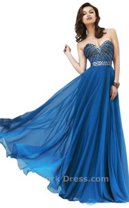 Sherri Hill Prom Homecoming Plus Size Navy Dress
