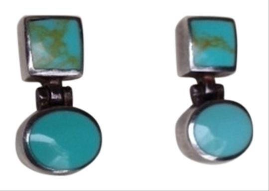 Preload https://item1.tradesy.com/images/silver-and-aqua-stone-earrings-1722935-0-0.jpg?width=440&height=440