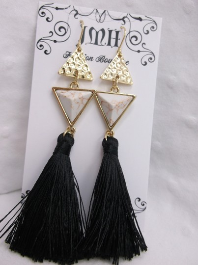 Other Triangle and Tassel Fashion Earrings w Free Shipping Image 1