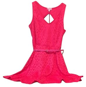 Candie's Skater Skater Eyelet Lace Flirty Dress