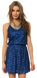Honey Punch Sequin Halter Dress