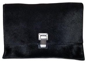 Proenza Schouler Pony Hair Black Clutch